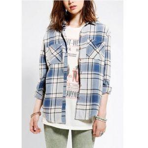 Urban Outfitters BDG Frankie Boyfriend Flannel XS